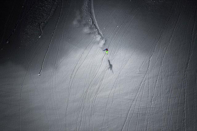 Jonathan Charlet Snowboarding