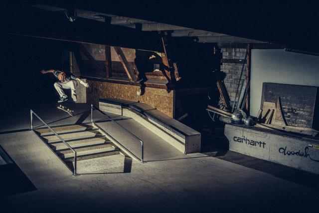 Nelson Shelenge Skateboarding